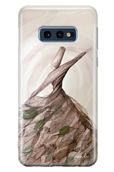 Lopard Samsung Galaxy S10E Kılıf Semazen Kapak Renkli